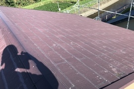 筑前町 M様邸屋根塗装の施工前画像