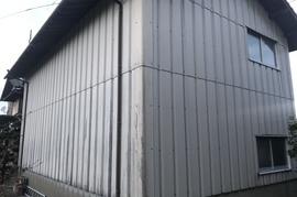 久留米市 T様倉庫外壁塗装の施工前画像