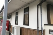 朝倉市秋月 O様邸外壁塗装、塀塗装