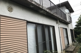 久留米市田主丸町 M様邸外壁塗装の施工前画像