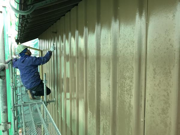 久留米市 T様邸倉庫外壁塗装