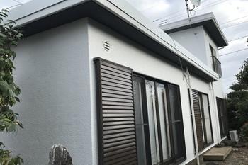 久留米市田主丸町 M様邸外壁塗装の施工後画像