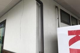 朝倉市秋月 O様邸外壁塗装、塀塗装の施工前画像