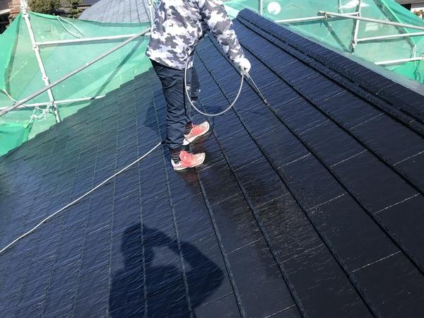 朝倉市甘木アパート、外壁塗装、屋根塗装