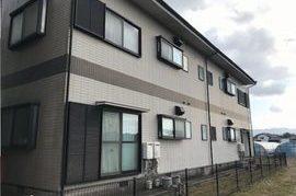 朝倉市外壁塗装(アパート塗装)の施工前画像