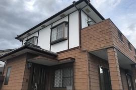 朝倉市甘木T様邸 外壁塗装の施工前画像