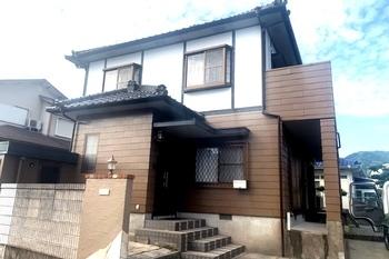 朝倉市甘木T様邸 外壁塗装の施工後画像