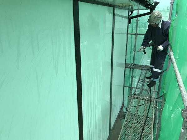 朝倉市甘木T様邸、外壁塗装