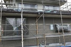 朝倉郡筑前町Y様邸、外壁塗装の施工前画像