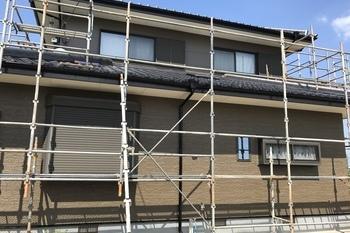 朝倉郡筑前町Y様邸、外壁塗装の施工後画像