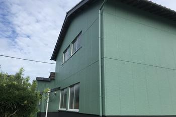 久留米市 T様外壁塗装、倉庫外壁塗装の施工後画像