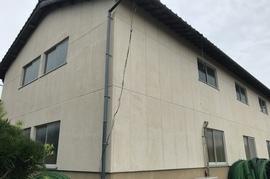 久留米市 T様外壁塗装、倉庫外壁塗装の施工前画像