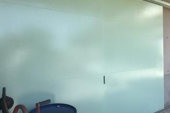 久留米市 鉄扉塗装の施工後画像