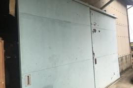 久留米市 鉄扉塗装の施工前画像